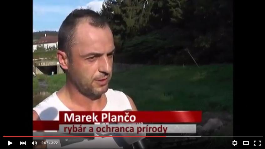 video_tvdk_marek_planco_zachrana_jasenovskeho_potoka